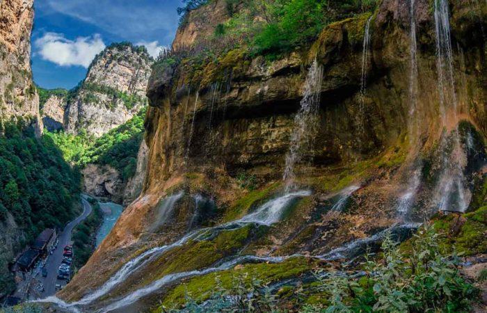 Чегемские водопады.