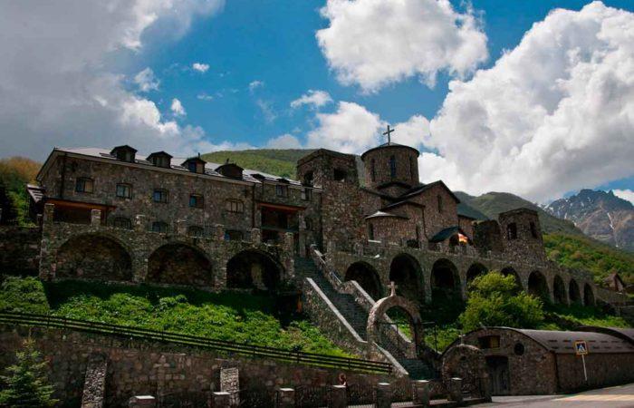 Аланский Успенский мужской монастырь, Северная Осетия-Алания.