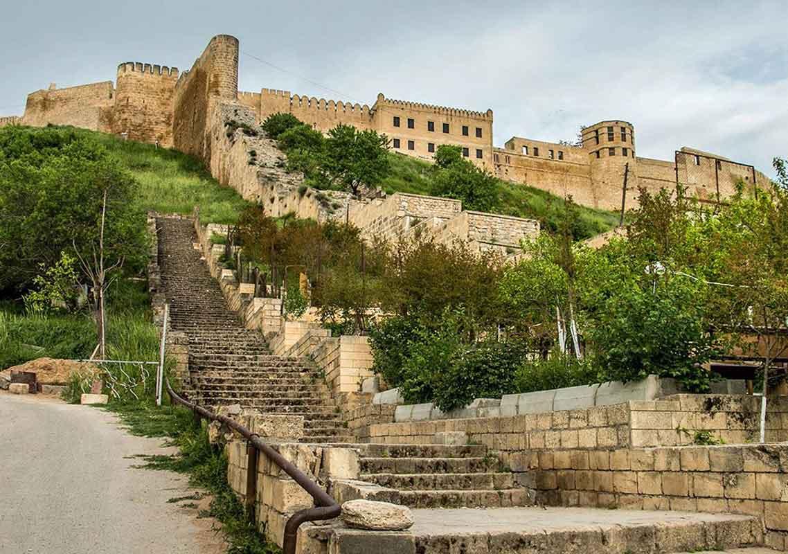 Крепость Нарын-Кала г. Дебент.
