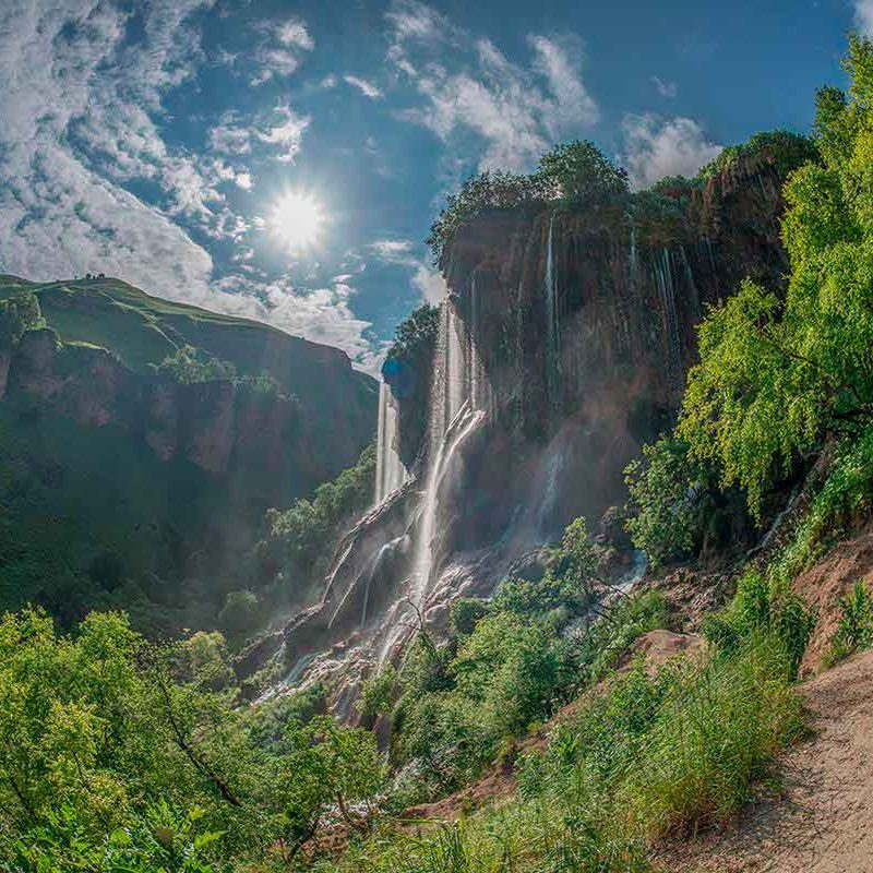 Водопад Царская корона (Гедмишх).