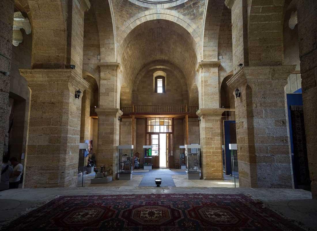 Армянская церковь (внутри) г. Дербент.