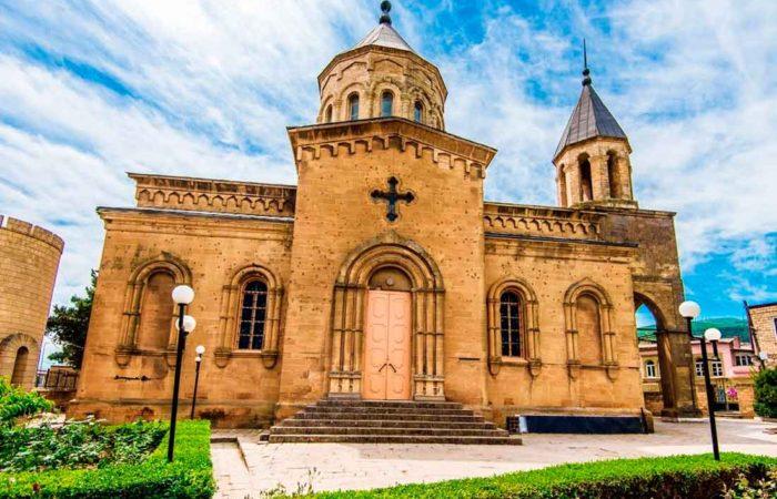 Армянская церковь г. Дербент.