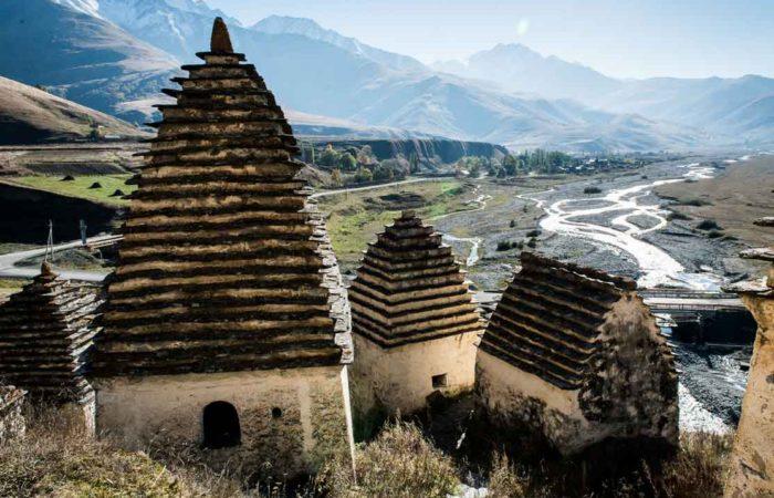 Некрополь в с Даргавс, Северная Осетия-Алания.
