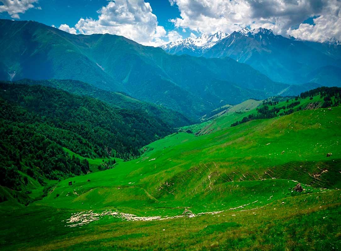 Горная Ингушетия, Джерахский район.