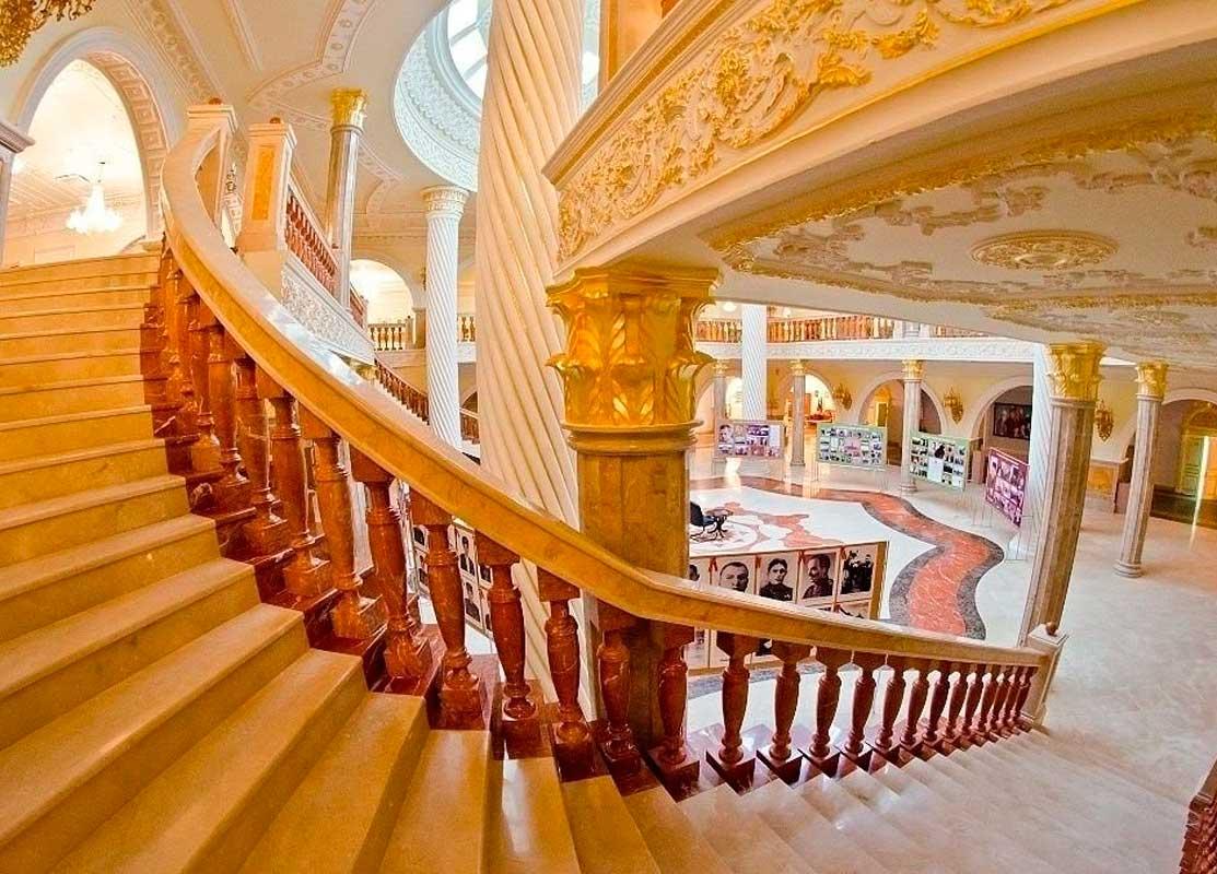 Музей им. Ахмада-Хаджи Кадырова (внутри), г. Грозный.