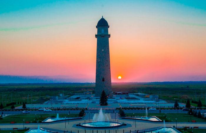 Башня Согласия, г. Магас.