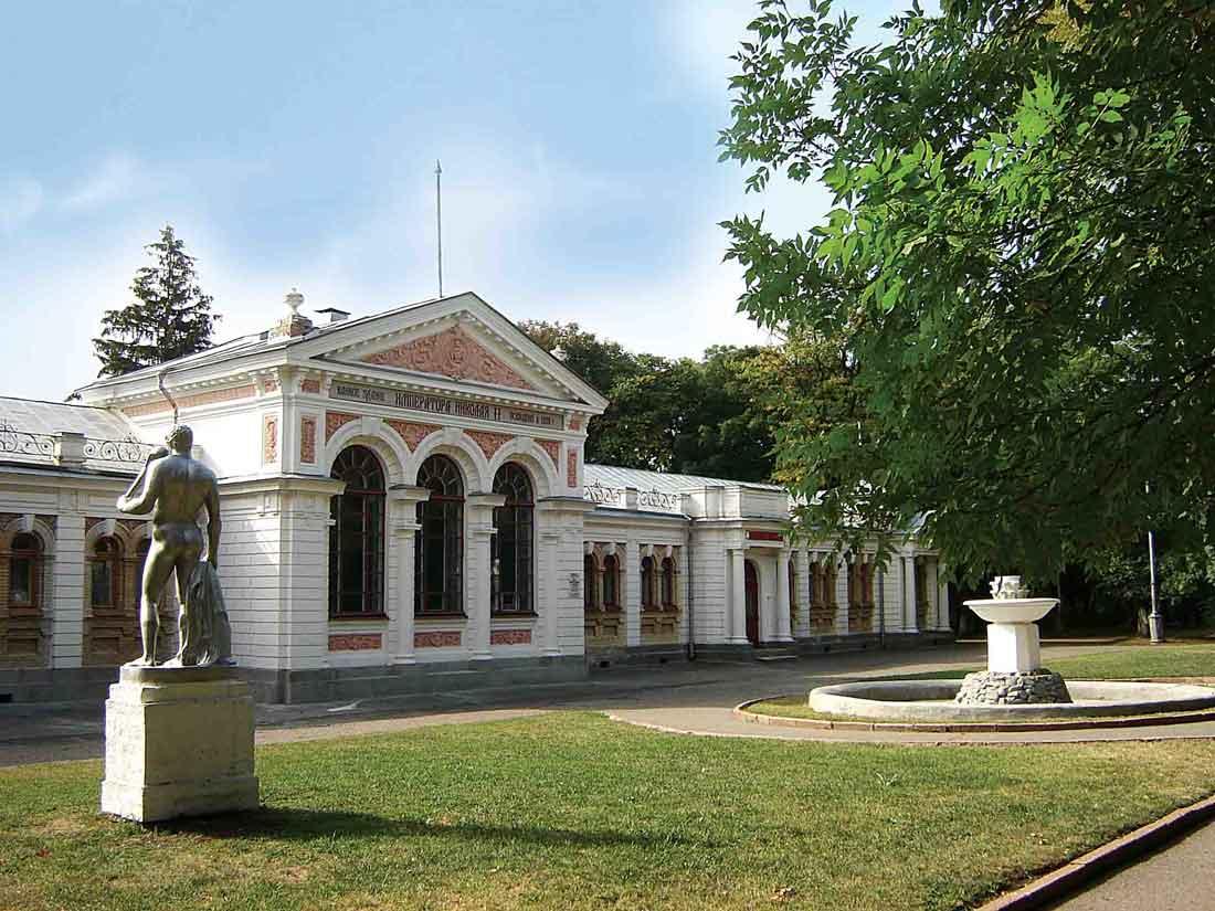 Николаевские ванны, г. Ессентуки.