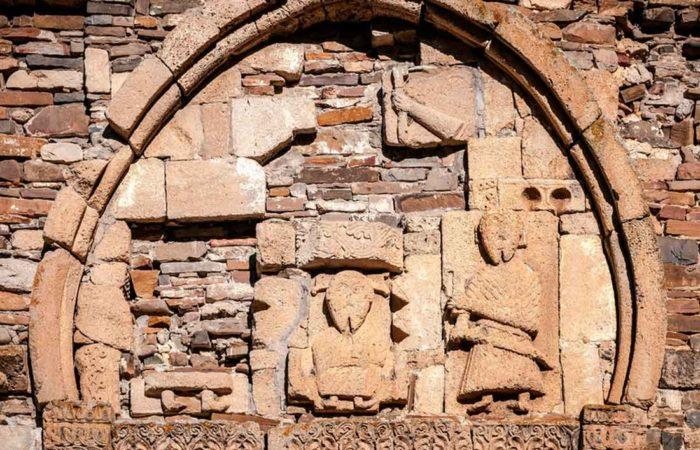 Раннехристианский храм Тхаба-Ерды, Горная Ингушетия.