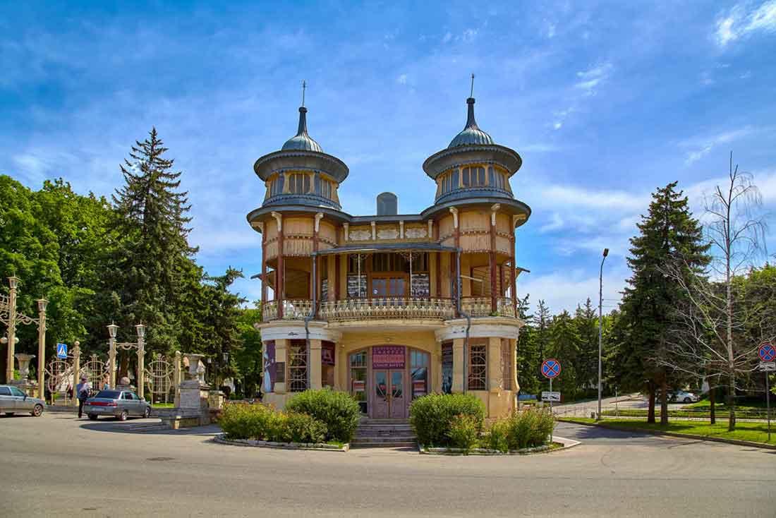 Кофейня Гукасова, г. Пятигорск.