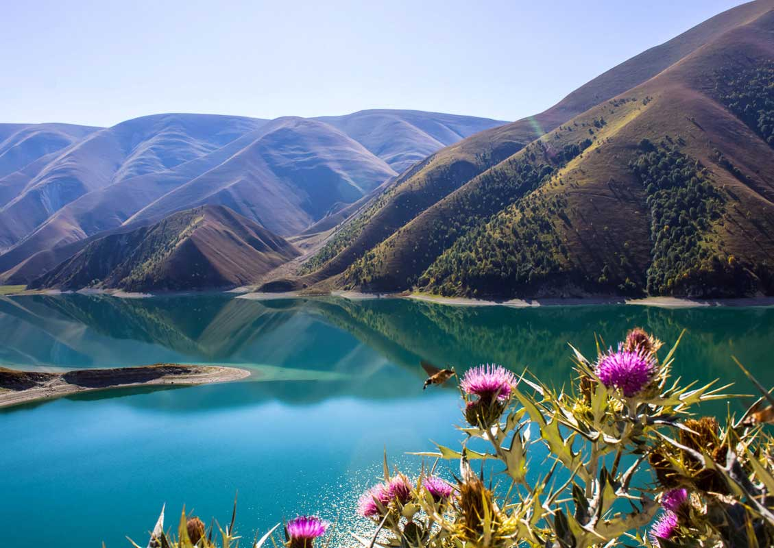 """Экскурсия """"Горная Чечня I"""". Высокогорное озеро Кезеной-Ам."""