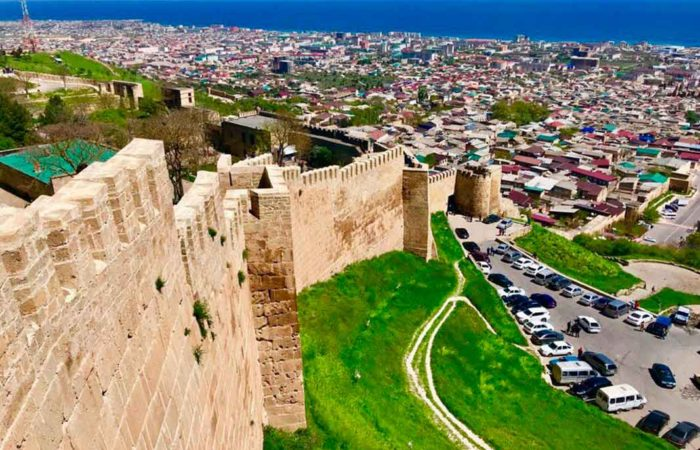 Крепость Нарын-Кала г. Дербент.