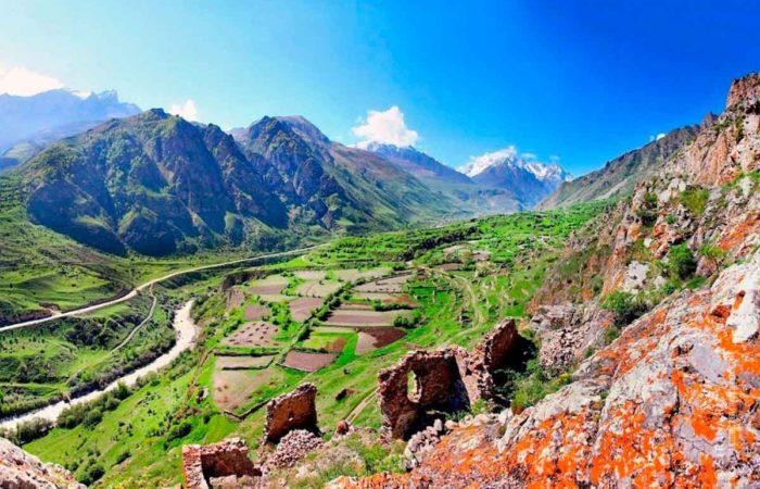 Село Верхняя Балкария.
