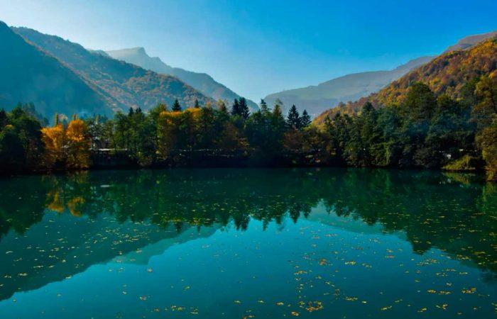 """Экскурсия """"Верхняя Балкария"""". Голубое озеро."""