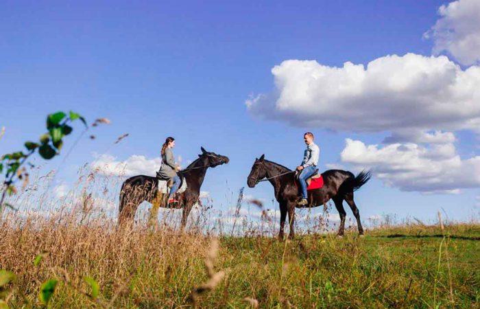 Катание на лошадях, г. Кисловодск.