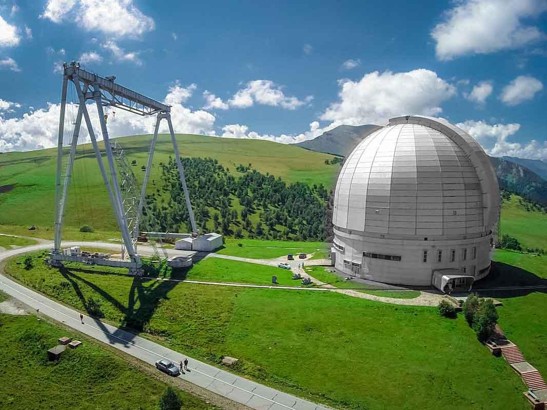 Специальная астрофизическая обсерватория РАН.