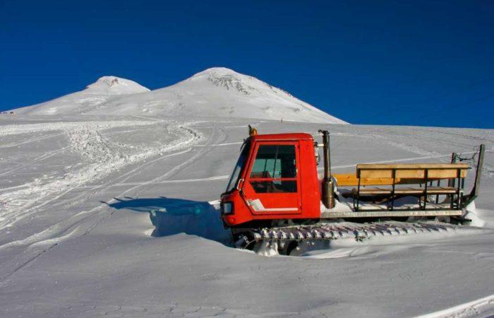 Эльбрус, высота 4200 метров н.у.м.