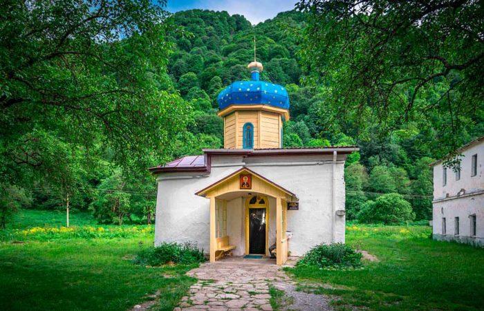 Церковь Илии пророка, южный храм.