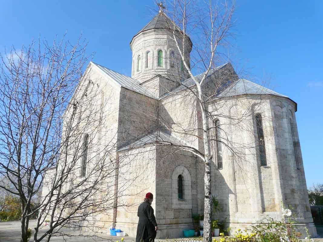 Свято-Троицкий Серафимовский женский монастырь в Кабардино-Балкарии.