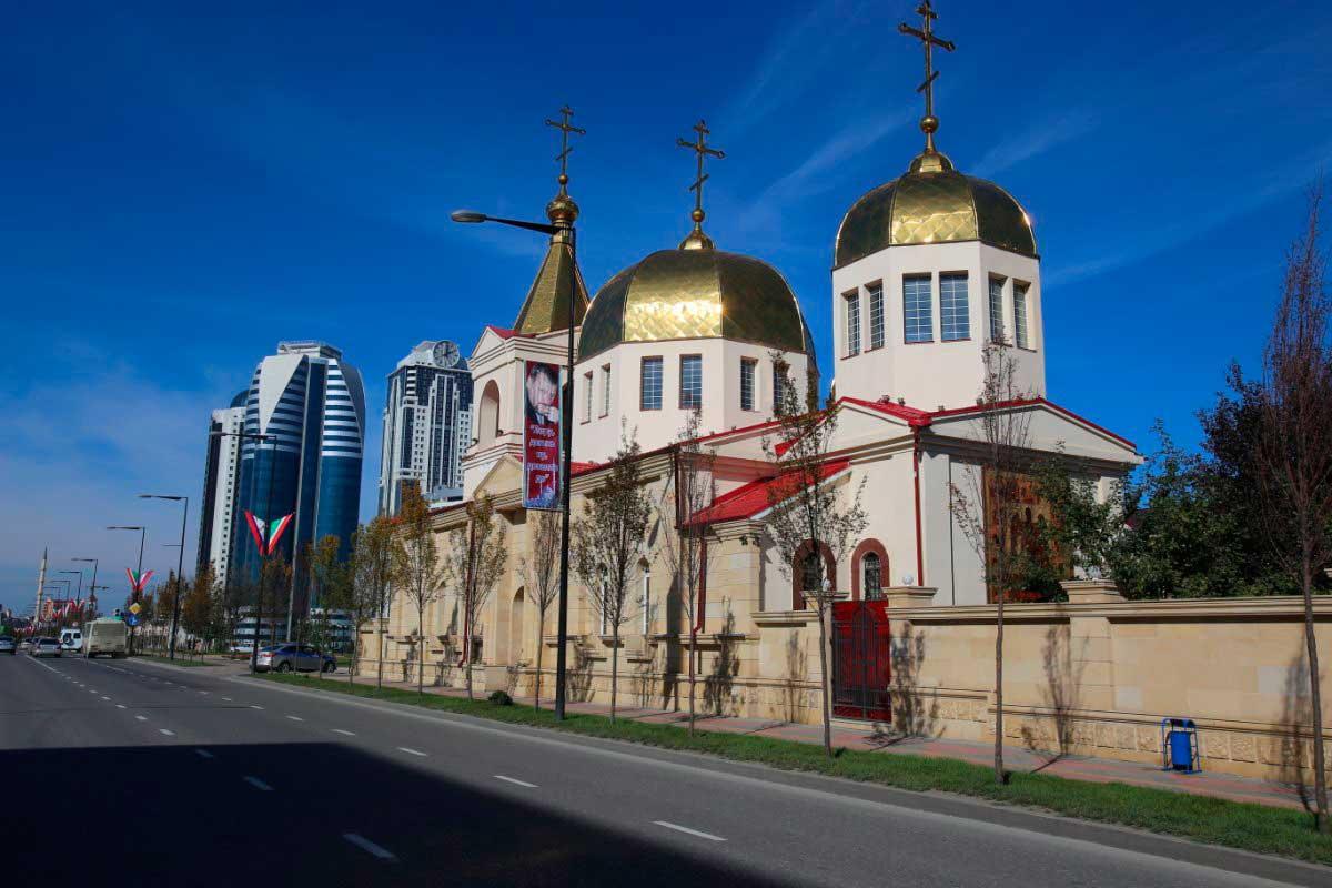 Храм Михаила Архангела, г. Грозный.