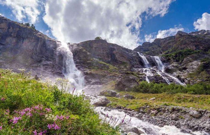 Софийские водопады.