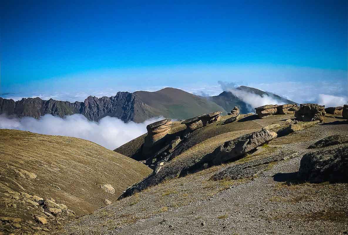 Долина каменных грибов, Северное Приэльбрусье.