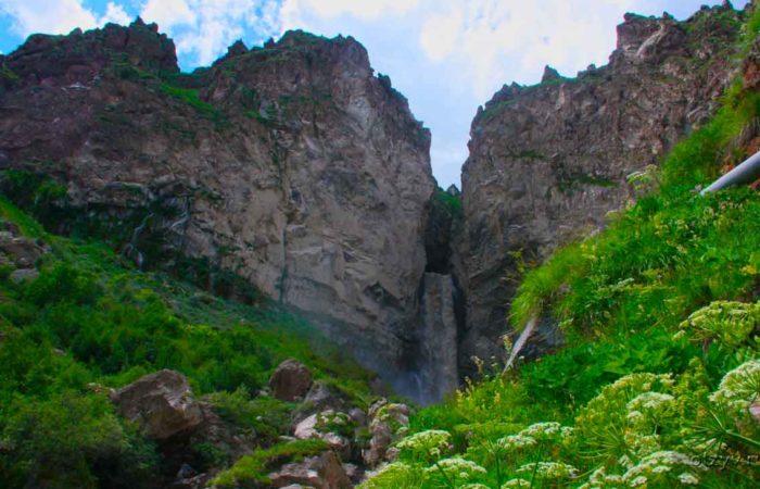 Водопад Султан, урочище Джилы-Су.