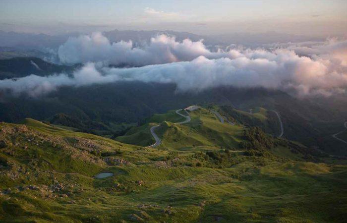 Перевал Гум-Баши.
