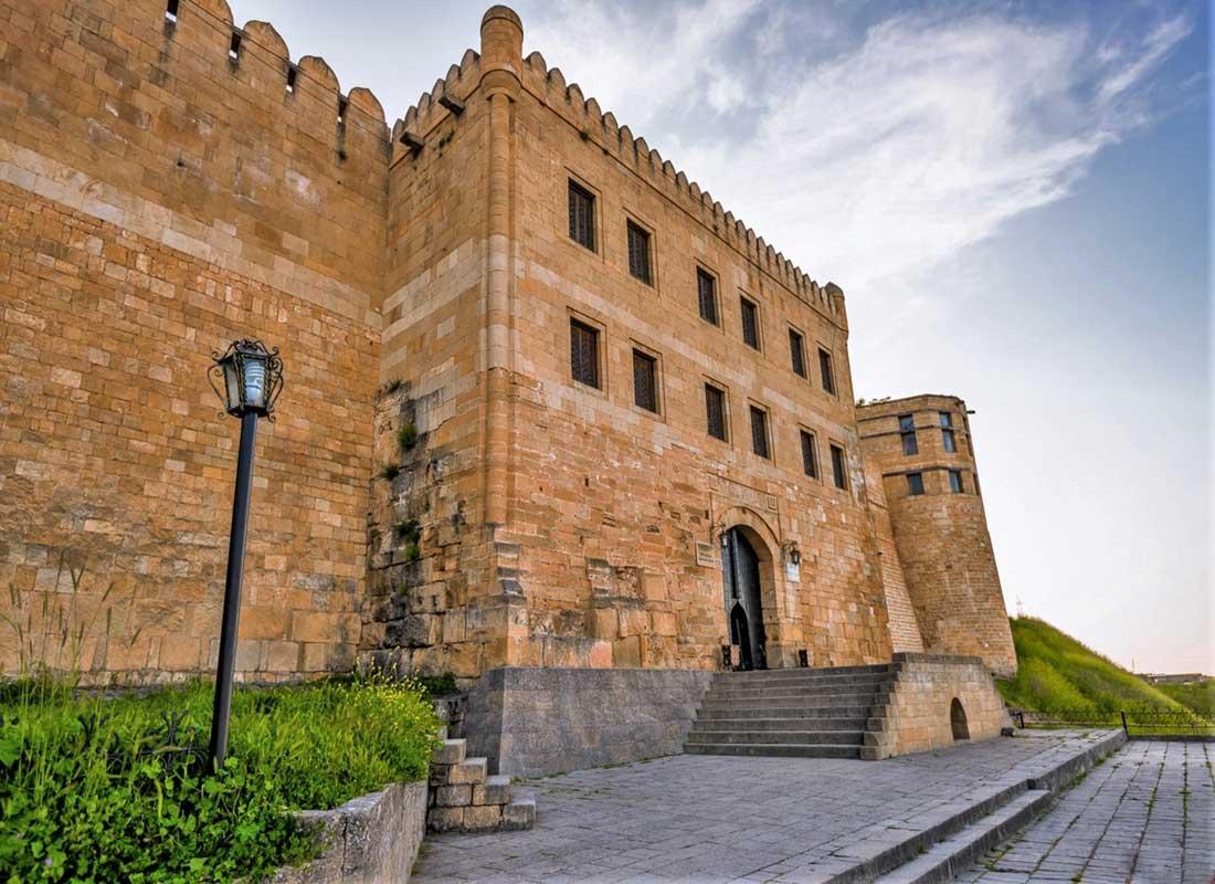 Главный вход в крепость Нарын-Кала, г. Дербент.