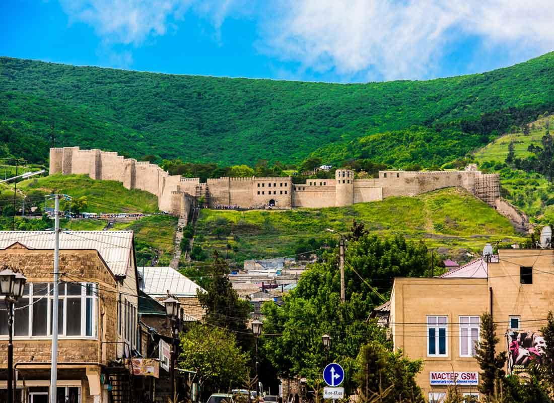 Крепость Нарын-Кала, г. Дебент.
