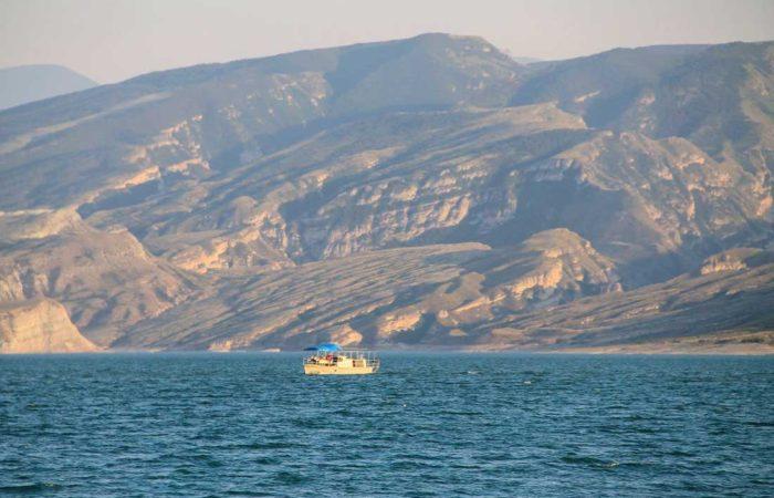 Чиркейское водохранилище, Дагестан.