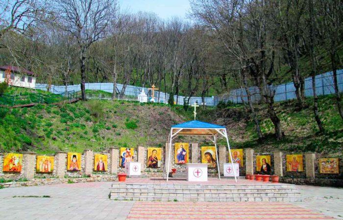 Летний храм, Успенский Второ-Афонский Бештаугорский мужской монастырь.