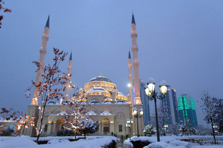 """Мечеть """"Сердце Чечни"""", г. Грозный"""