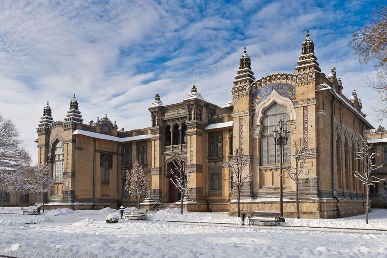 Главная Нарзанная галерея, г. Кисловодск
