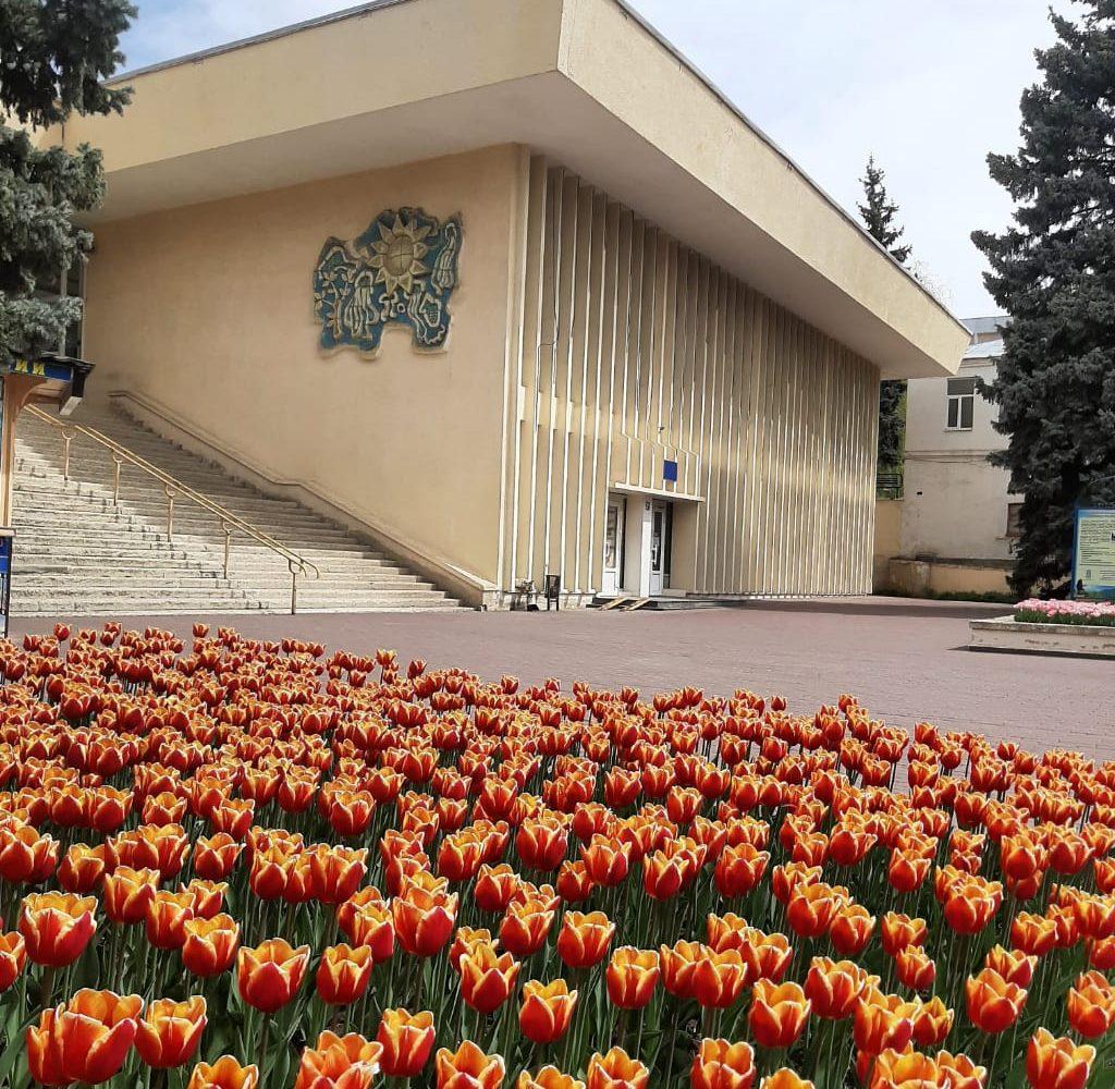 Открытие Центральной питьевой нарзанной галереи в г. Пятигорске