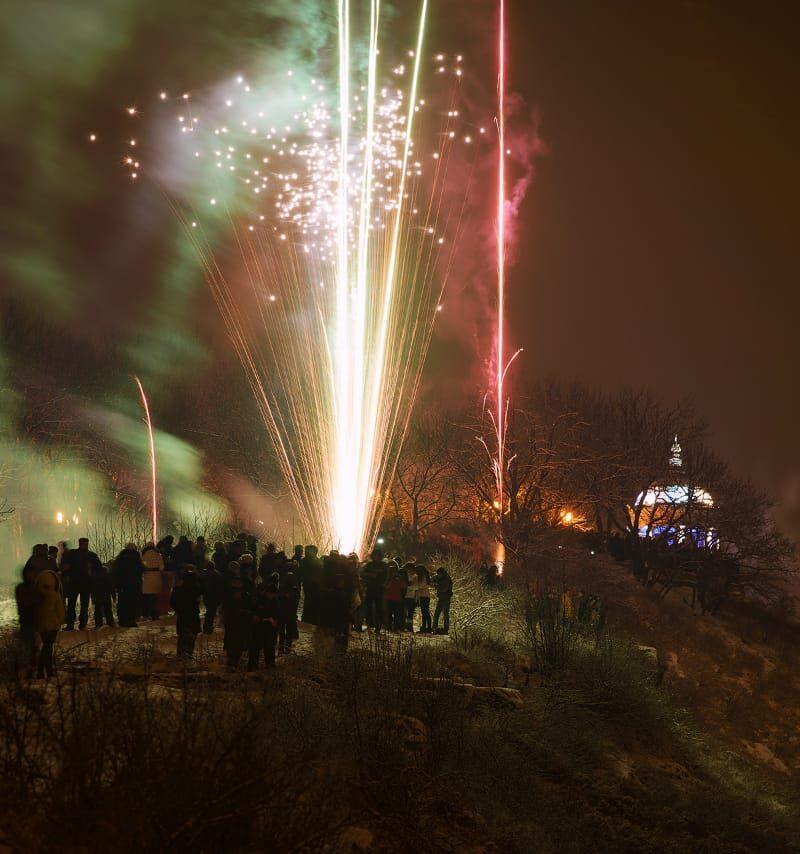 Новый год на Эоловой арфе