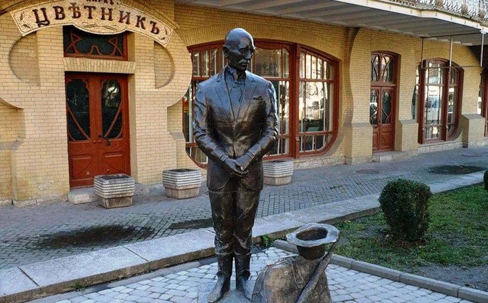 Фото Пятигорск, памятник Кисе Воробьянинову