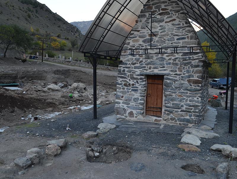 Раскопки в Северной Осетии