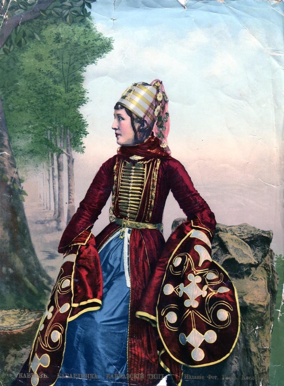 История национального костюма Кавказа